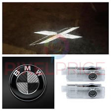 BMW CARBON CREE LED PROJECTOR CAR DOOR LIGHTS SHADOW PUDDLE COURTESY LASER LOGO