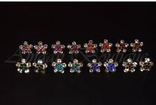 Womens New Crystal Rhinestone Ear Studs Stars Earrings Ladies Fashion Jewellery