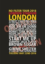 Canvas - The Rolling Stones at London Stadium, London 22nd & 25th May 2018