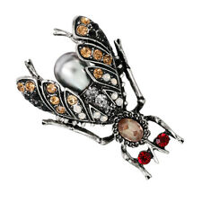 Insecte strass Abeille Broche Perles Bug Scarf Festin Hijab Pins