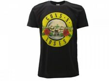 T-Shirt GUNS N' ROSES Maglietta ROCK nera Uomo Donna ORIGINALE IDEA REGALO