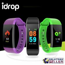 idrop I9 IP68 Waterproof Heart Rate Monitor Fitness Smart Watch Bracelet