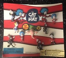 Extremely Rare Dr. Seuss' The Cat In The Hat-See The Movie-Figurines-Vending NIP