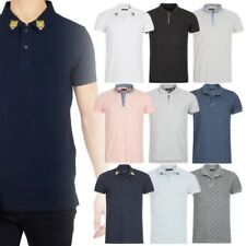 Brave Soul LONDON Polo Uomo Maglietta collo a polo camicia casual manica corta