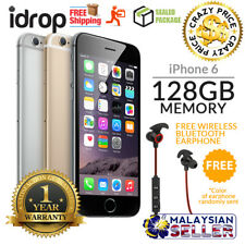 Apple iPhone 6 128GB - FACTORY UNLOCKED with 1 Year Warranty + Free Gift