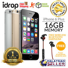 Apple iPhone 6 Plus 16GB - FACTORY UNLOCKED with 1 Year Warranty + Free Gift