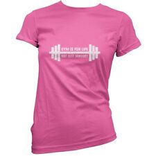 PALESTRA È for Life, Not Just Jan - Donna / T-shirt da - Fitness - 11 colori
