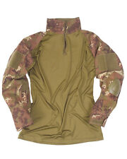 "Tactical CAMICIA """"Warrior "" Vegetato Woodland,TARN Camicia,SWAT,Paintball"