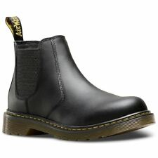 Dr.Martens Banzai Black Youth Softy T Leather Chelsea Ankle Boots