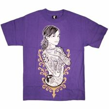 Famous Stars and Straps Shes famous Mens T-shirt Purple