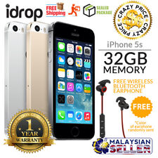 Apple iPhone 5s 32GB - FACTORY UNLOCKED with 1 Year Warranty + Free Gift
