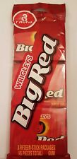 Wrigley's Big Red Cinnamon Chewing Gum- 3 Fifteen-Stick Pack - American Import