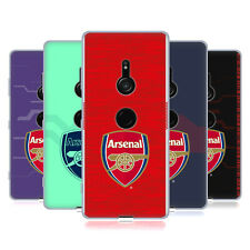 OFFICIAL ARSENAL FC 2018/19 CREST KIT SOFT GEL CASE FOR SONY PHONES 1