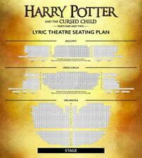2 x PREMIUM TICKETS - HARRY POTTER & THE CURSED CHILD, Parts 1 & 2, 19.08.2018!
