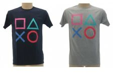 T-shirt PLAYSTATION Maglietta LOGO Bimbo VIDEOGAMES adulto ORIGINALE IDEA REGALO