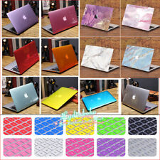 "Crystal Shiny Hard Case Shell+Keyboard Cover for MacBook PRO AIR 11"" 12"" 13"" 15"""