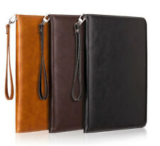 Stand Smart Leather Case Cover Hand Rope For New iPad 5th 2 3 4 Mini Air Pro 9.7