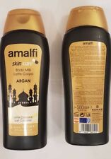 AMALFI BODY MILK IN ARGAN,ROSE HIP OIL,COCO OR ALOE VERA 500ML From Spain