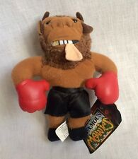 1997 InFamous Meanies Mike Tyson Bison Stuffed Toy w/ Original Tag Idea Factory