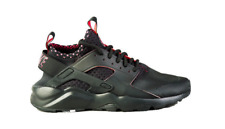 Mens Nike Air Huarache Run Ultra SE 875841 005 Solar Red Black Trainers