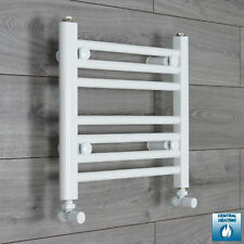 White Heated Towel Rail Rad Bathroom Radiator Rad Central Heating 500mm (w) Wide