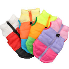 DOG CLOTHES FOR SMALL DOG WINDPROOF WINTER PET DOG COAT JACKET PADDED CLOTHES