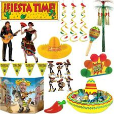 Fiesta Mexicana Party Decoration Mexico Themed Deco Summer Set