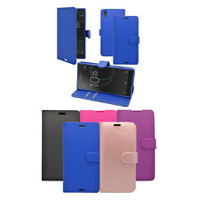 For Sony Xperia L1 In Various Colours Wallet Book Flip Cover Case