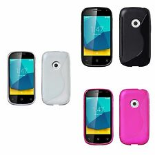 FOR VODAFONE SMART FIRST 7 S-LINE TPU SILICONE GEL COVER CASE