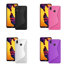 For Huawei P20 Lite S-Line TPU Silicone Gel In Various Colour Cover Case