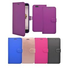 For ZTE Blade A512 Unbranded Wallet Book Flip In Various Colours Covers Case