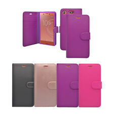 For Sony Xperia XZ1 In Various Colours Wallet Book Flip Cover Case