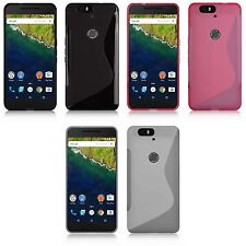 For Huawei Nexus 6P S-Line Silicone Gel Cover Case