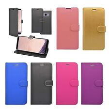 FOR SAMSUNG GALAXY S8 WALLET FLIP IN VARIOUS COLOURS COVER CASE
