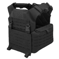 Bulldog Kinetic MK2 Military Tactical Police MOLLE Armour Plate Carrier Black