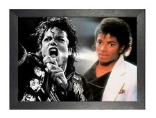 MICHAEL JACKSON 12 American Singer Poster King MUSICA POP STAR ON STAGE IMMAGINE