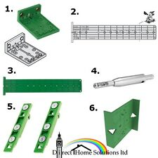 ikea fixa drill template jig mounting knobs handles drilling guide0