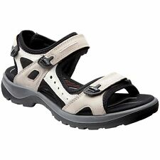90ce8cd48307e Ecco Offroad Atmosphere Ice White Mens Nubuck Strappy Activity Sport Sandals
