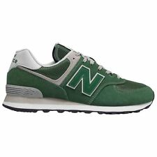 New Balance ML574 Green Mens Suede Mesh Low-top Running Shoes Trainers