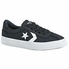 Converse Breakpoint Ox Almost Black White Youth Canvas Low-top Trainers