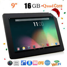 9'' HD Quad Core 16GB Double Caméra Wi-Fi 3G PC Tablette Android 4.4 phablette