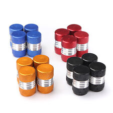 4PCS Aluminum Alloy Car Wheel Tire Valve Stem Caps Dust Covers