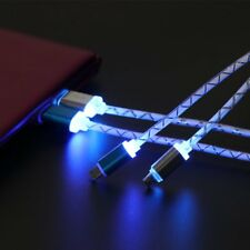 LED USB Data Sync Charger Cable Fast Charging Cable Charger Data Sync Cable