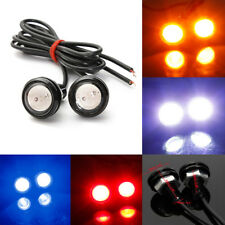 DC12V 3W COB LED Car Eagle Eyes Daytime Running Lights Backup Lamp Bulb