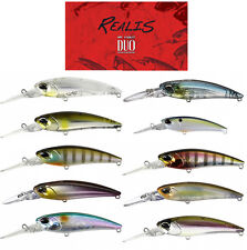 "Duo Realis Shad 62Dr Crankbait 2 1/2""  Balsawood Crankbait Bass Fishing Lure"