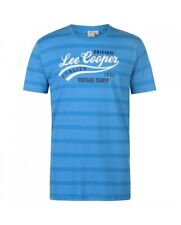 LEE COOPER T-SHIRT UOMO BRIGHT BLUE