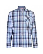 LEE COOPER CAMICIA UOMO WHITE/NAVY/BLUE