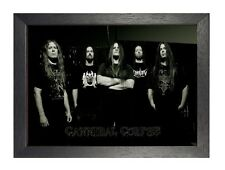Cannibal Corpse 6 foto ROCK BAND DEATH METAL FILM VINTAGE MUSICA POSTER