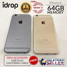 CRAZYBOSS Apple iPhone 6 64GB Used Phone Grade A Free Accessories Gold Gray