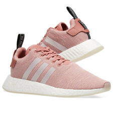 98c347ce67929 Adidas Women s Nmd R2 Boost Trainers Shoes Pink Running Runner CQ2007 New  Sale